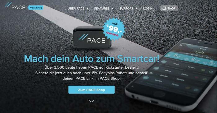 Pace Gutschein