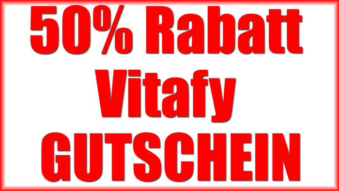 Vitafy 50% Rabatt