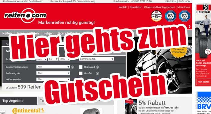 Reifen.com Gutschein 5