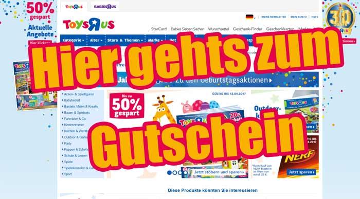 ToysRUs Gutschein 2