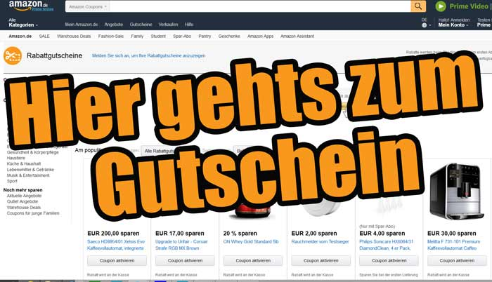 amazon gutschein coupon