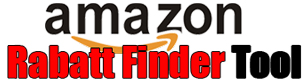 amazon Rabatt Finder Tool