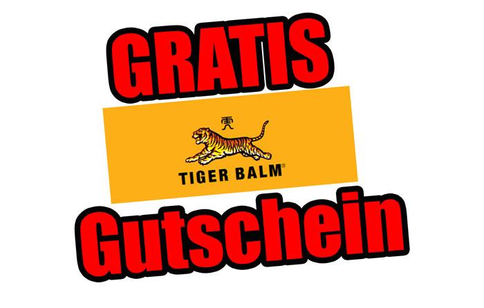 Tiger Balm Gutschein