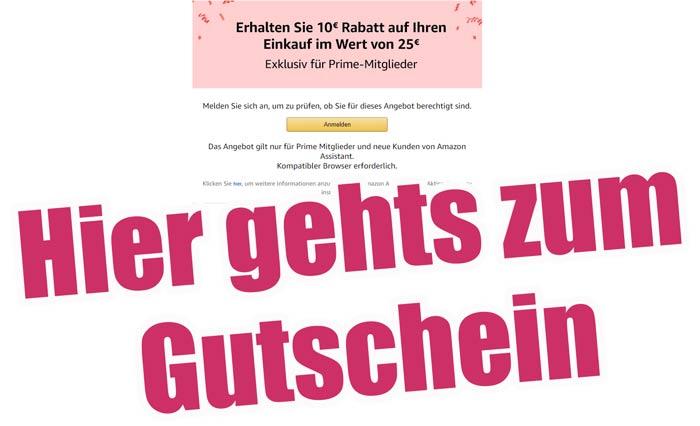 amazon Gutschein 10 Euro